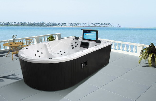 Monalisa 5 Persons Ship Shape Hot Tub Jacuzzi Modern