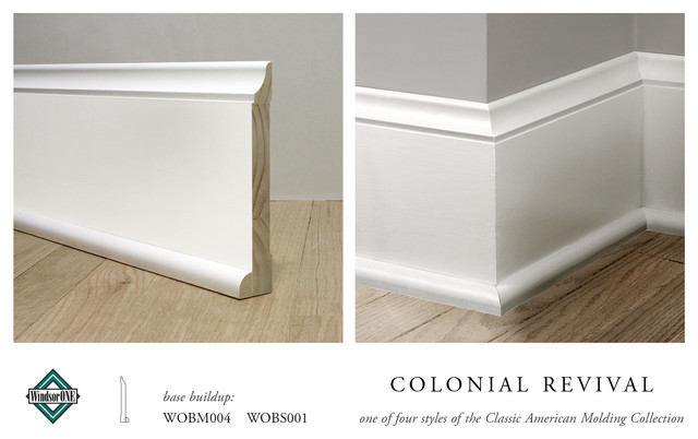 Windsorone Colonial Revival Base Molding Traditional