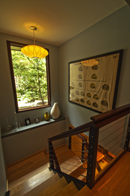 Marblehead Residence contemporary-staircase