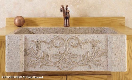 Stone Forest Farmhouse Sinks traditional-kitchen-sinks