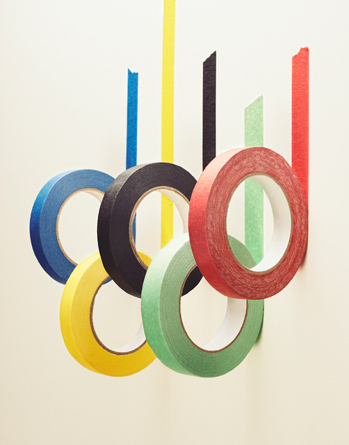 Olympic Tapes A modern-artwork