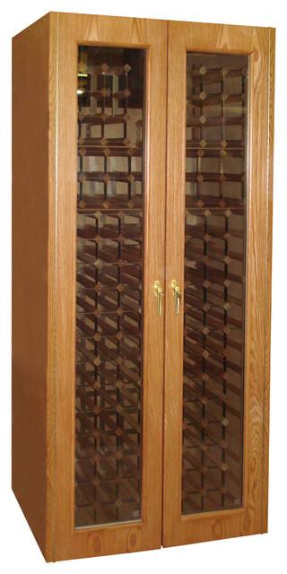 700-Model Wine Cabinet with 2 Glass Doors contemporary-wine-racks