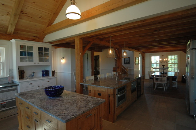 Scouse House ~ Nantucket traditional-kitchen