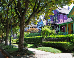 The Purple Painted Lady eclectic exterior