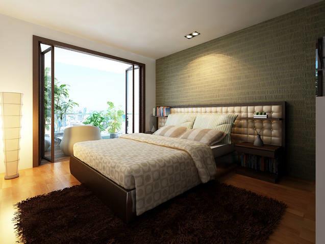 Studio Q Design contemporary-bedroom