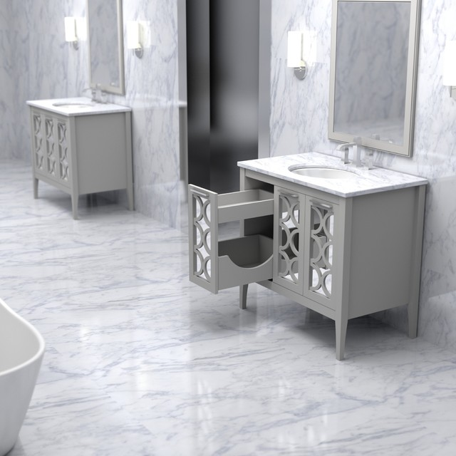 Stephen vanity from the furniture guild atlanta by the furniture guild for Furniture guild bathroom vanities