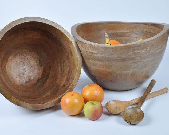 Sarisha Mango Wood Bowl -