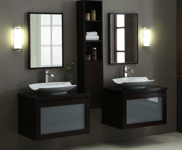 Bathroom vanities sets modern bathroom vanities and for Modern bathroom cabinets ideas