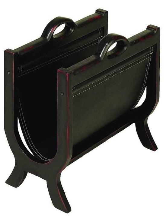 Wood Leather Magazine Holder With Leather Cover - If you are looking for low cost but rare to find elsewhere decor item to bring extra galore that could refresh the decor appeal of short spaces on tables and shelves, beautifully carved WOOD LEATHER MAGAZINE HOLDER may be a good choice. *Size: 17 Inches Wide, 15 Inches High *Material: Well seasoned quality wood, leather *Color: Brown * Unique table decor; Impressive; Involving; Coordinating; Affordable option for customized gift