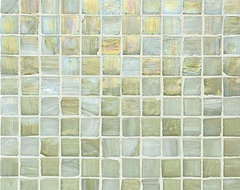 Vintage Glass Tile, Onyx Lustre contemporary kitchen tile