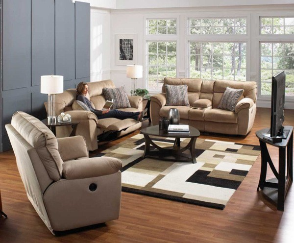 Ashton 3 Piece Power Reclining Living Room Set