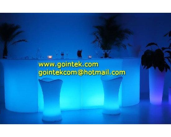 lighting bar counter with led light -