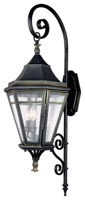 "Morgan Hill 37 3/4"" High Outdoor Wall Light traditional-outdoor-wall-lights-and-sconces"