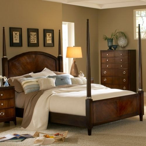 East Hampton Poster Bed Set traditional-beds