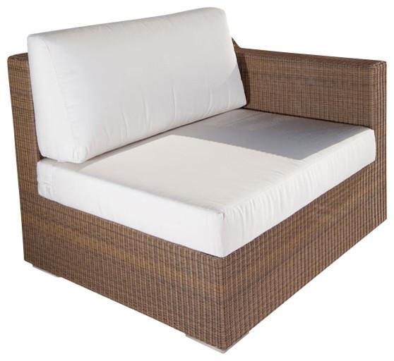 Malaga Luxury All Weather Wicker Sofa modern-outdoor-sofas