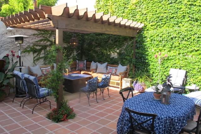 Spanish Style Backyard Redo mediterraneanpatio