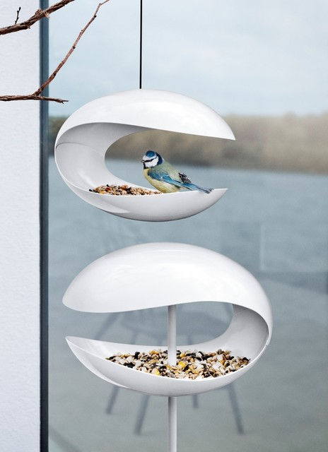 modern bird feeders by UPINTERIORS