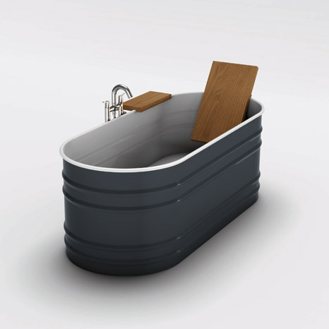 Metal Trough Bathtub : Water+Trough+Bathtub Contemporary Bathtubs design by Other Metro ...
