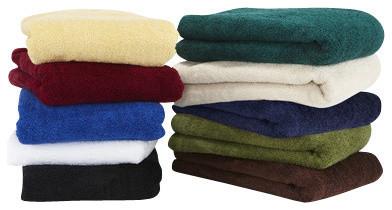 Hotel Collection Cotton Bath Towel, Natural, Bath Sheet contemporary-towels