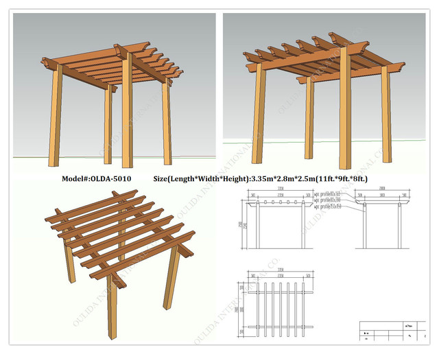 Pergola Design Plans Free Outdoor Goods