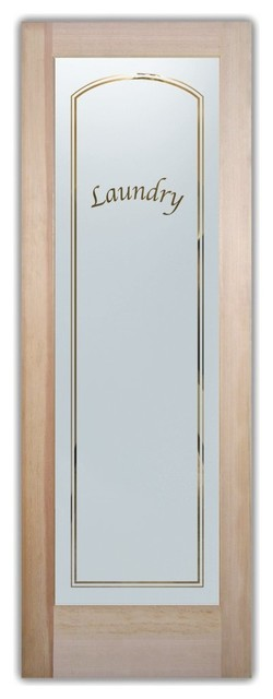 Classic Arched Apple Chancery Traditional Interior Doors By Sans Soucie Art Glass