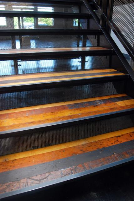 Reclaimed Textile Mill Maple Flooring Modern Wood