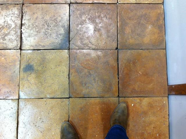 Antica Fornace Carrara - CERSAIE Bologna, Italy 2013 floor-tiles