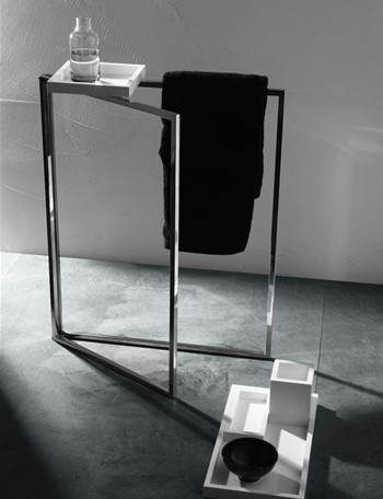 TOWEL STAND contemporary-towel-racks-and-stands
