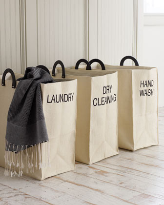 Dransfield & Ross Laundry Tote traditional hampers