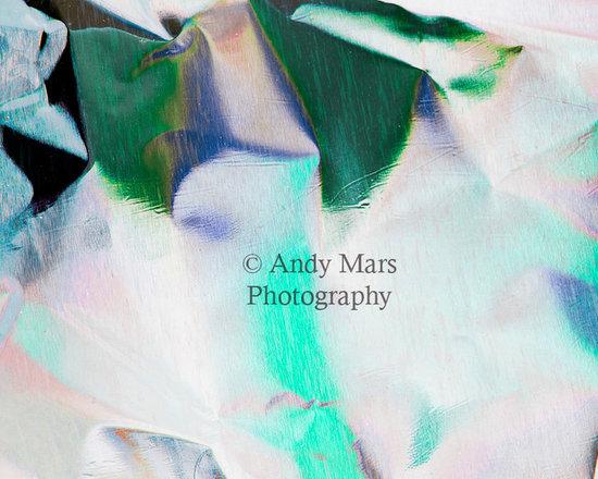 Green & Blue Abstract Foil - Green & Blue Abstract Foil © Andy Mars