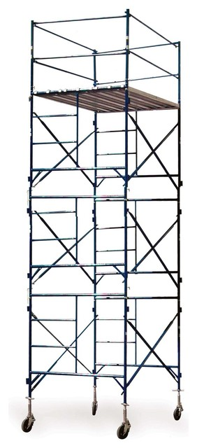 Scaffold Three Story Rolling Scaffold Tower - Modern - Garage And Tool Storage - by Beyond Stores