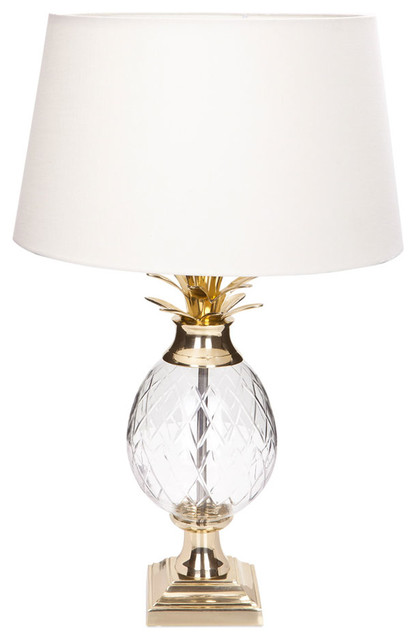 Pineapple lamp traditional table lamps by zara home for Floor lamp zara