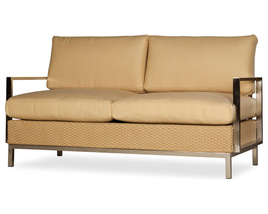 Lloyd Flanders Elements Collection Settee Love Seat -