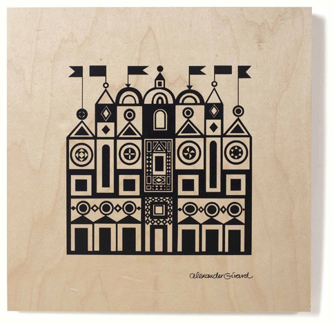 Alexander Girard PLY Facade traditional kids decor