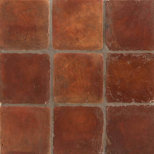 Spanish Terracotta Tile mediterranean-wall-and-floor-tile