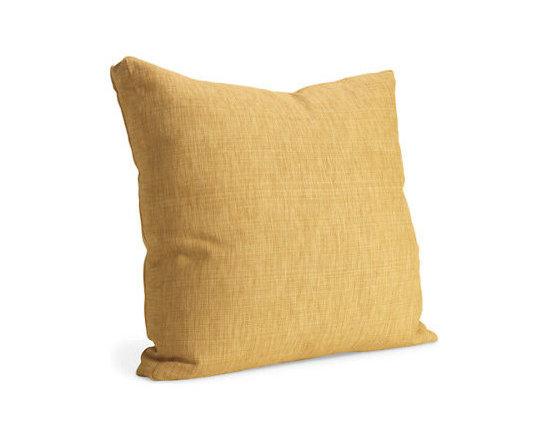 Garrison Saffron Pillow - Room & Board -