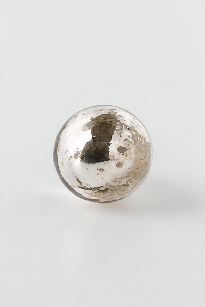 Silvered Mirror Knob, Petite Orb - Contemporary - Cabinet And Drawer Knobs - by Anthropologie