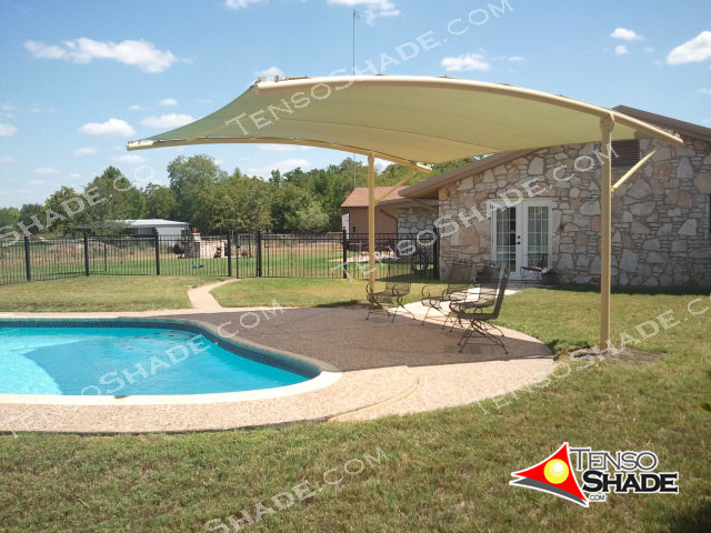 Pool and decks shade structures modern austin by for Home shade structures