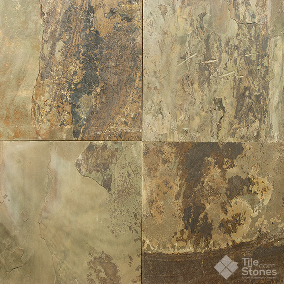 Forest Canyon Slate Tile 12x12 16x16 Contemporary Wall