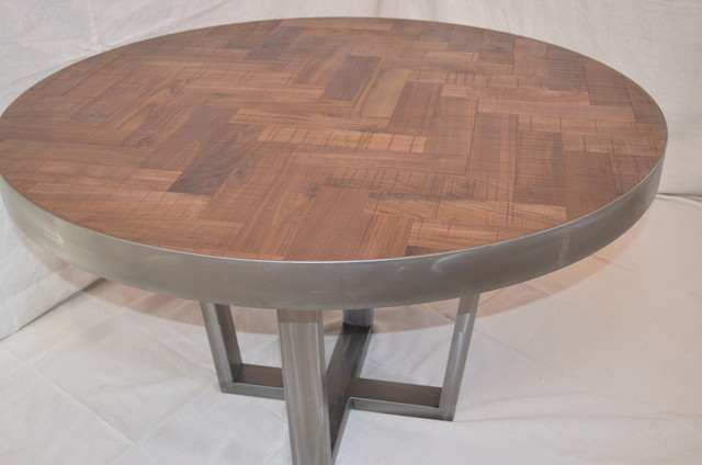 Welcome Rustic modern dining table
