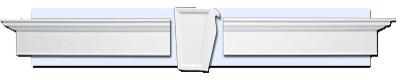Hampton Window Trim Kit (small) traditional-windows-and-doors