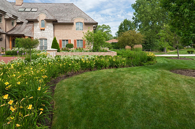 French Country Garden traditional-landscape