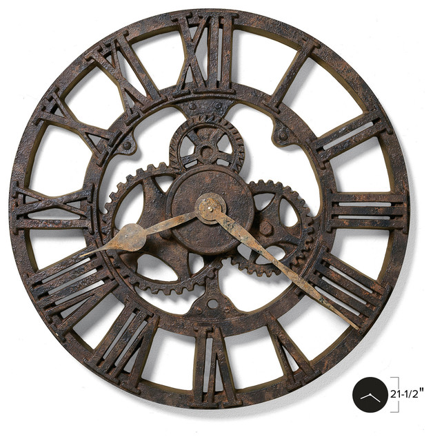 Allentown Wall Clock Industrial Wall Clocks By