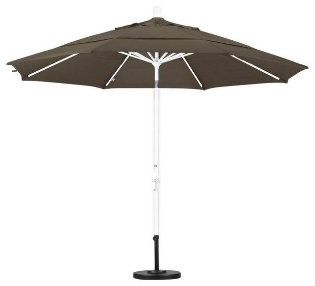 California Umbrella 11 ft Aluminum Double Vent Tilt