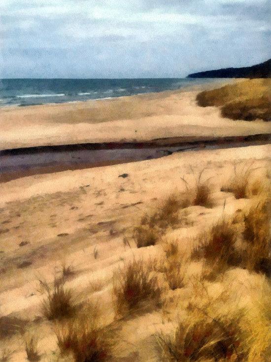 Winter Beach at Pier Cove ll -