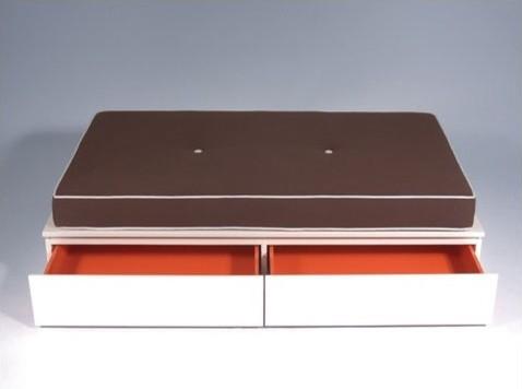 Dylan Bonding Upholstered Storage Bench modern-benches