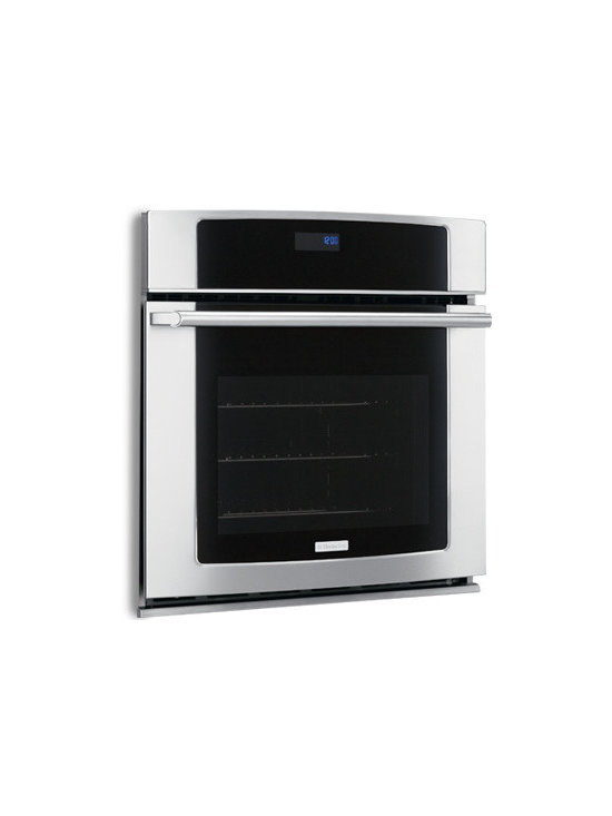 """27"""" Electric Single Wall Oven with Wave-Touch Controls by Electrolux - Large Capacity"""