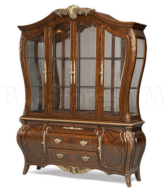 Imperial Court Radiant Chestnut China Buffet - AICO traditional-buffets-and-sideboards