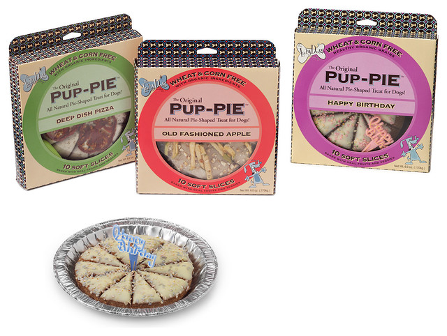 Pup-Pies: Dog Birthday Cake, Apple Pie, Pizza eclectic