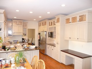 Ugly Cabinets no more! - Traditional - Kitchen Cabinetry - charlotte - by Cabinet ReVisions of ...
